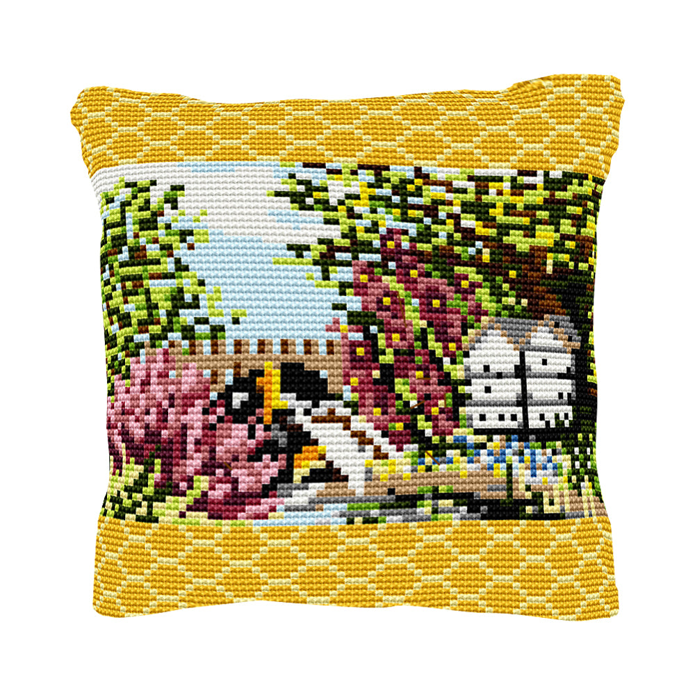 Beehive Cushion Tapestry Kit