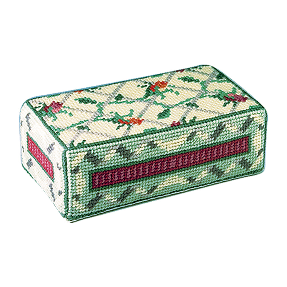Rosebuds Door Stop Tapestry Kit