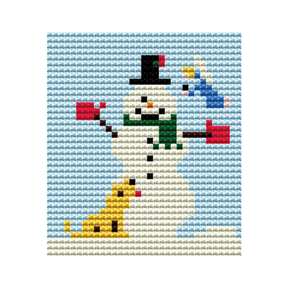 Snowman Tapestry Picture Starter Kit