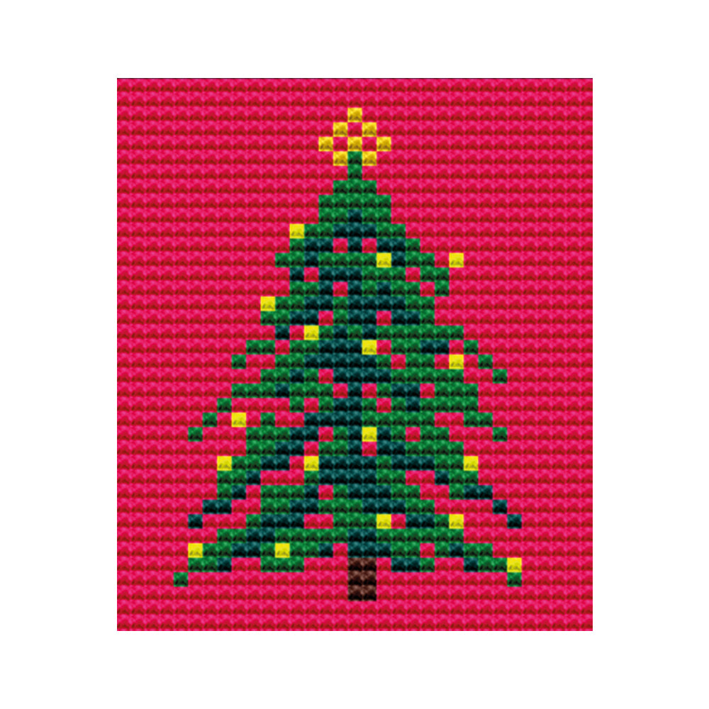 Christmas Tree Tapestry Picture Starter Kit