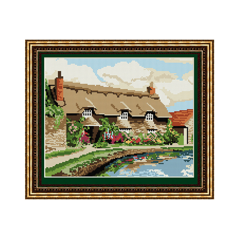 Thornton le Dale Cottage Tapestry Picture Kit