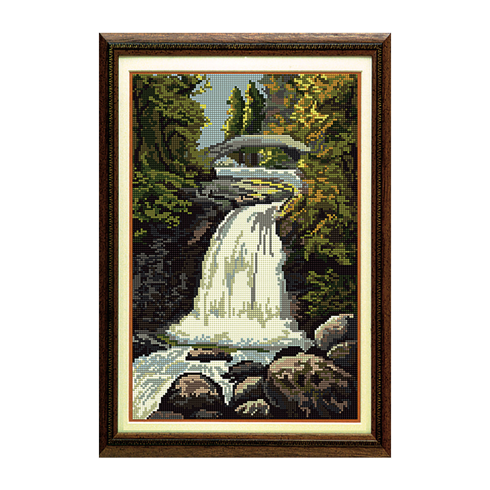 Falls Of Garravalt Tapestry Picture Kit