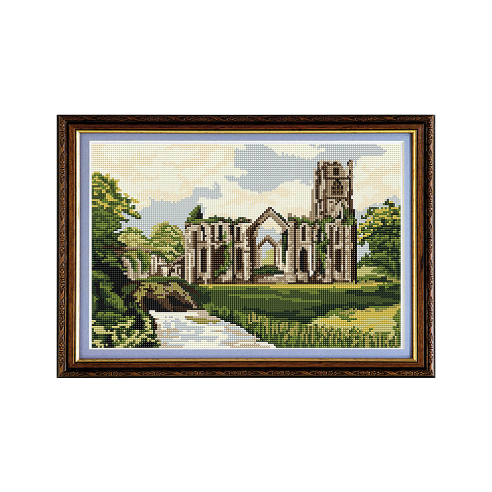 Fountains Abbey Tapestry Picture Kit