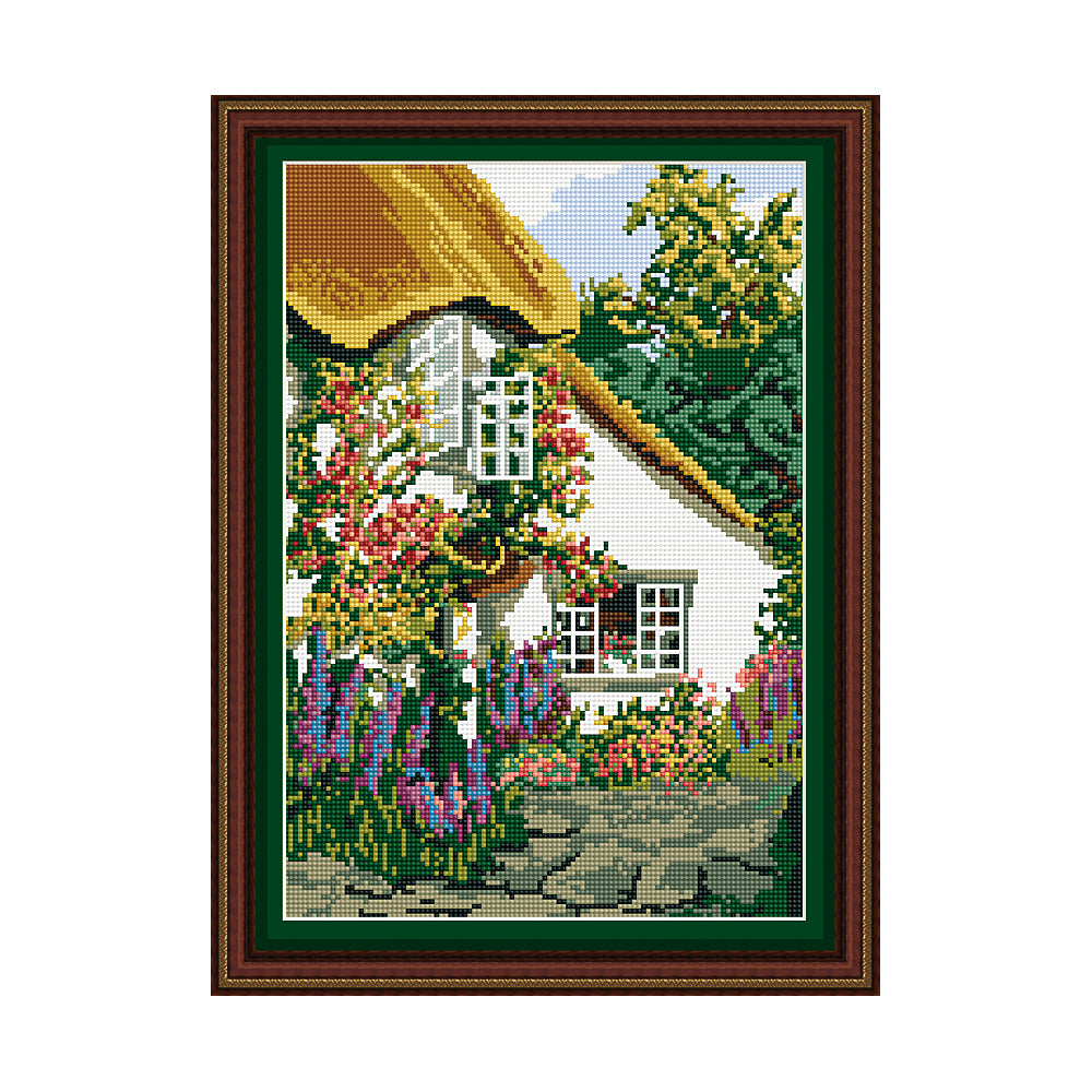 Devon Cottage Tapestry Picture Kit