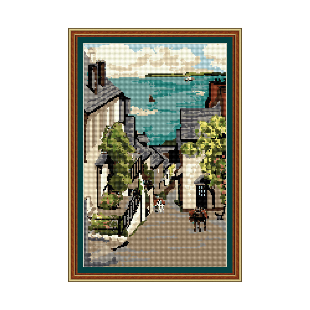 Clovelly Bay Tapestry Picture Kit
