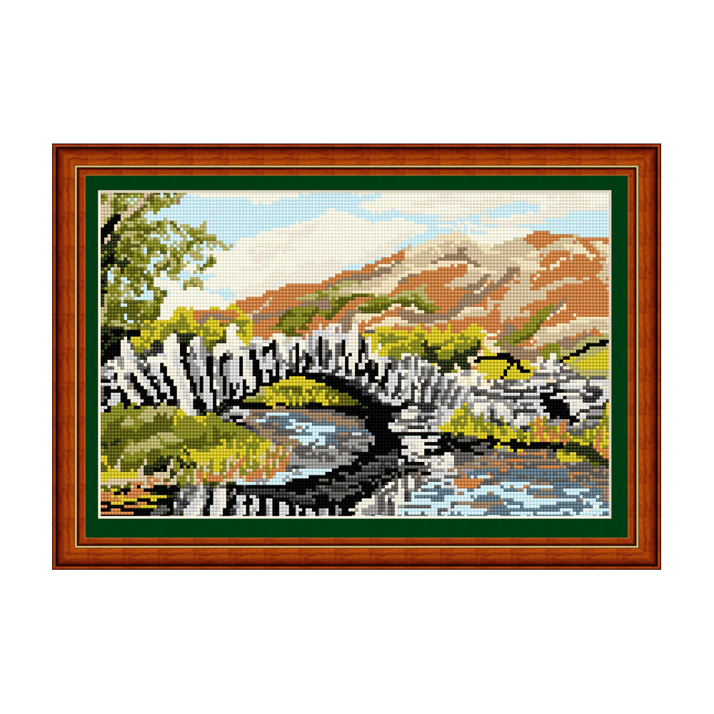 Slaters Bridge, Little Langdale Tapestry Picture Kit