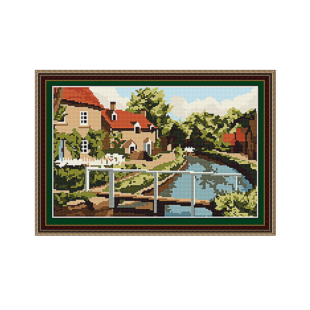 Lower Slaughter Tapestry Picture Kit