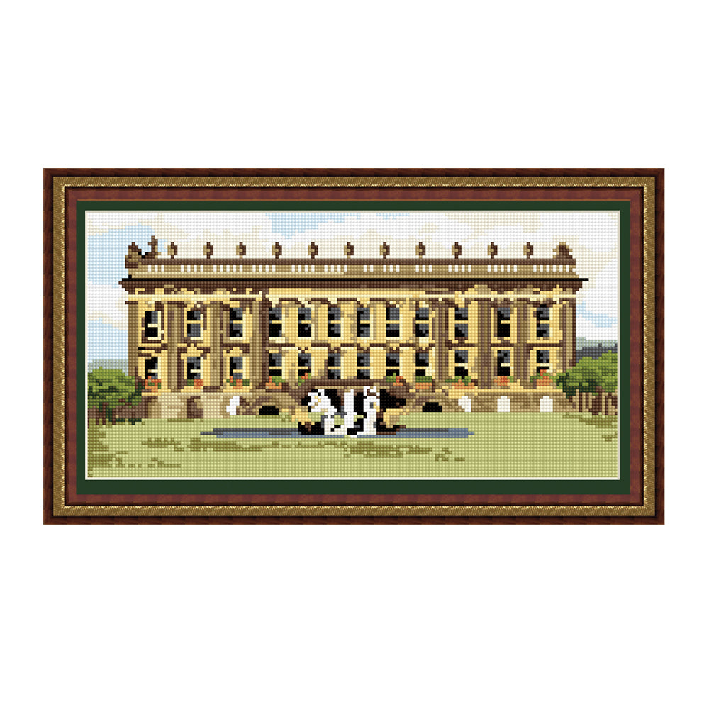Chatsworth House Tapestry Picture Kit
