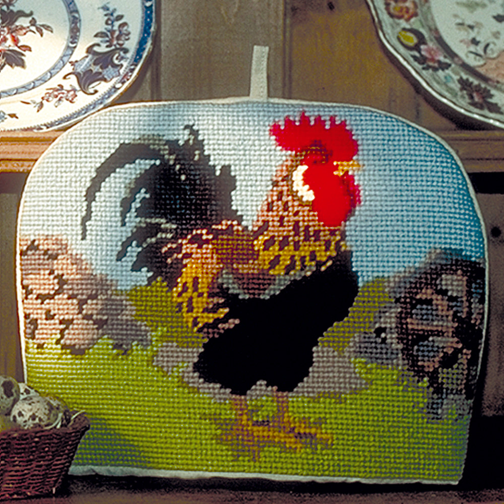 Rooster Tea Cosy Tapestry Kit