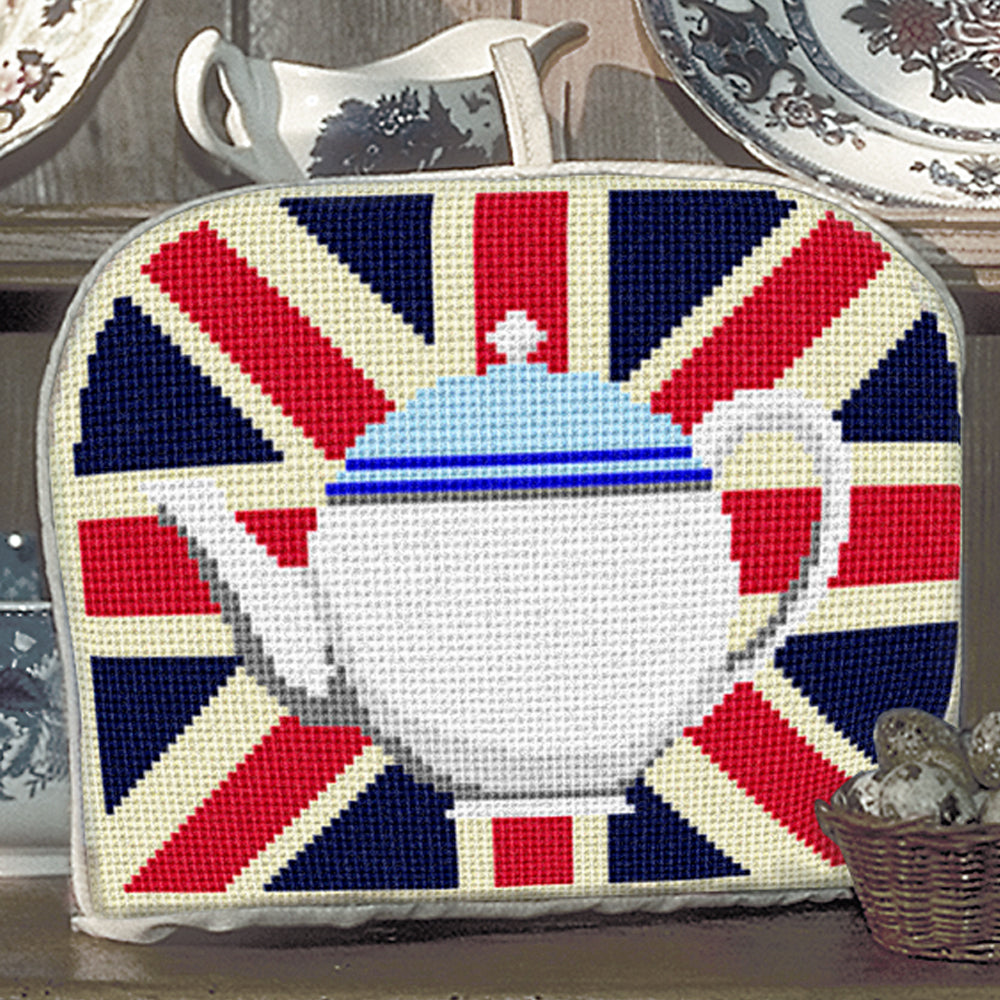 Afternoon Teapot Tea Cosy Tapestry Kit