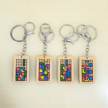 Load image into Gallery viewer, brick game cross stitch key chain