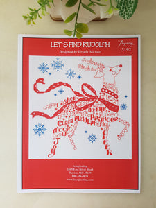 Ursula Michael Design Christmas Series, Imaginating Leaflet Cross Stitch Pattern, Available In Hardcopy Only