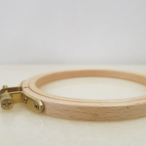 4 inch wooden embroidery hoop