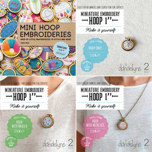 Dandelyne Mini Hoop Set