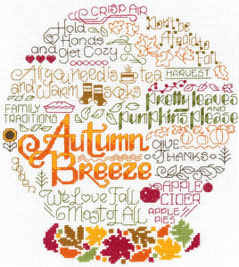 Ursula Michael Design 4 Seasons Series, Imaginating Leaflet Cross Stitch Pattern, Available In Hardcopy Only