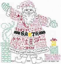 Load image into Gallery viewer, Ursula Michael Design Christmas Series, Imaginating Leaflet Cross Stitch Pattern, Available In Hardcopy Only