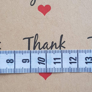 60 Pieces Round Thank You Stickers