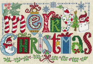 Diane Arthurs Design: Christmas Favorites, Imaginating Leaflet Cross Stitch Pattern, Available in Hardcopy Only
