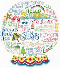 Load image into Gallery viewer, Ursula Michael Design 4 Seasons Series, Imaginating Leaflet Cross Stitch Pattern, Available In Hardcopy Only