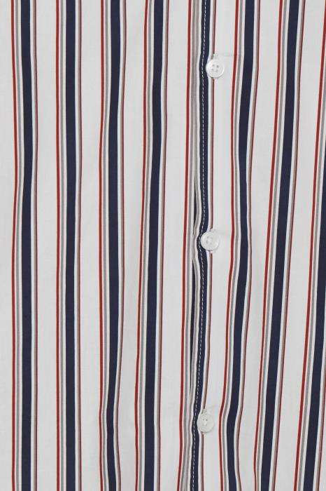 Pede SS Shirt - Red Stripe - Tailored & Originals