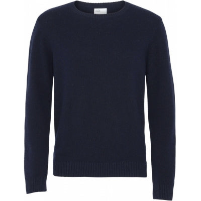 Light Merino Wool Crew - navy - Colorful Standard