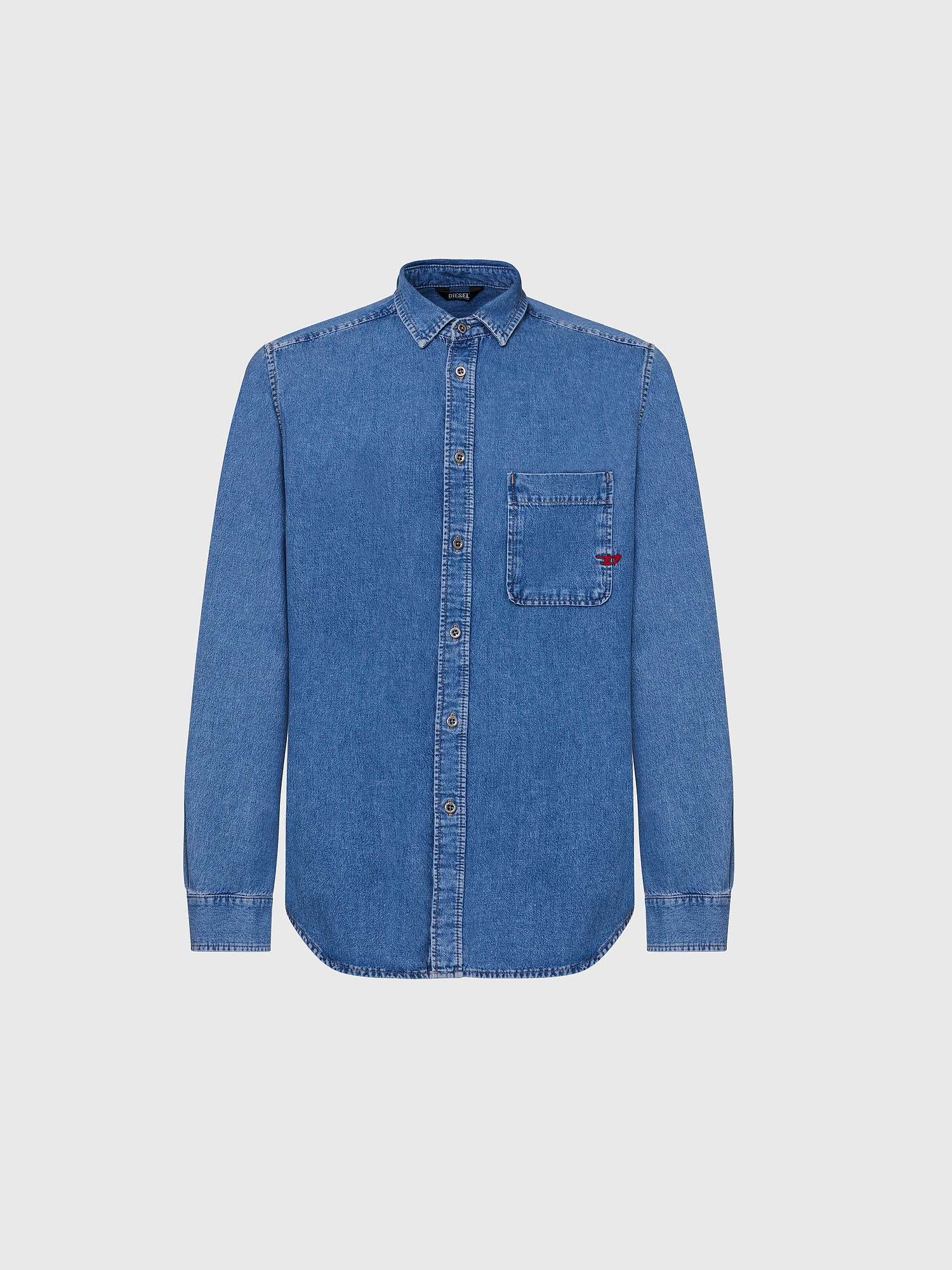 D-BILLY CAMICIA - Denim - Diesel