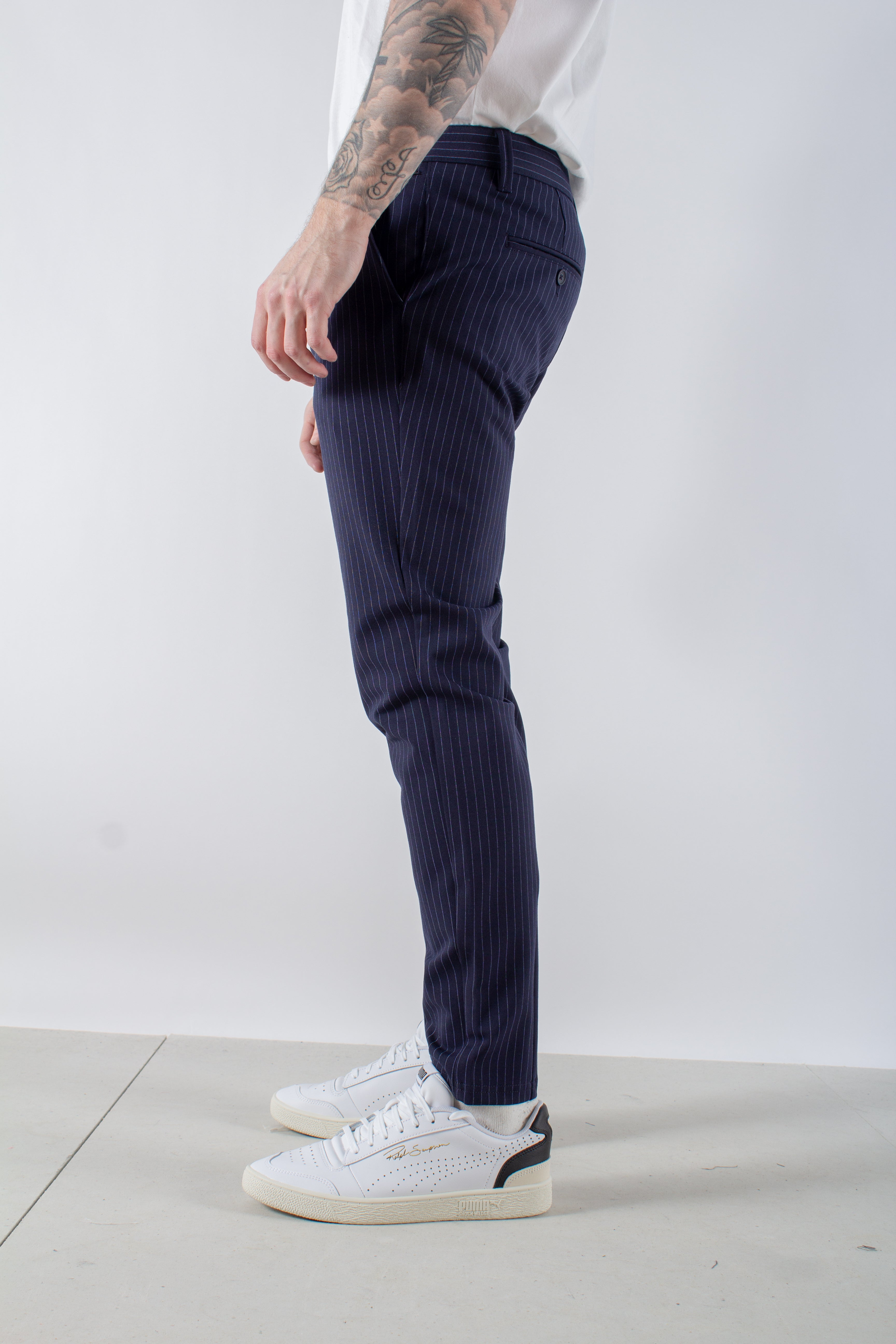 Mark Pant Stripe GW - Navy - Only & Sons
