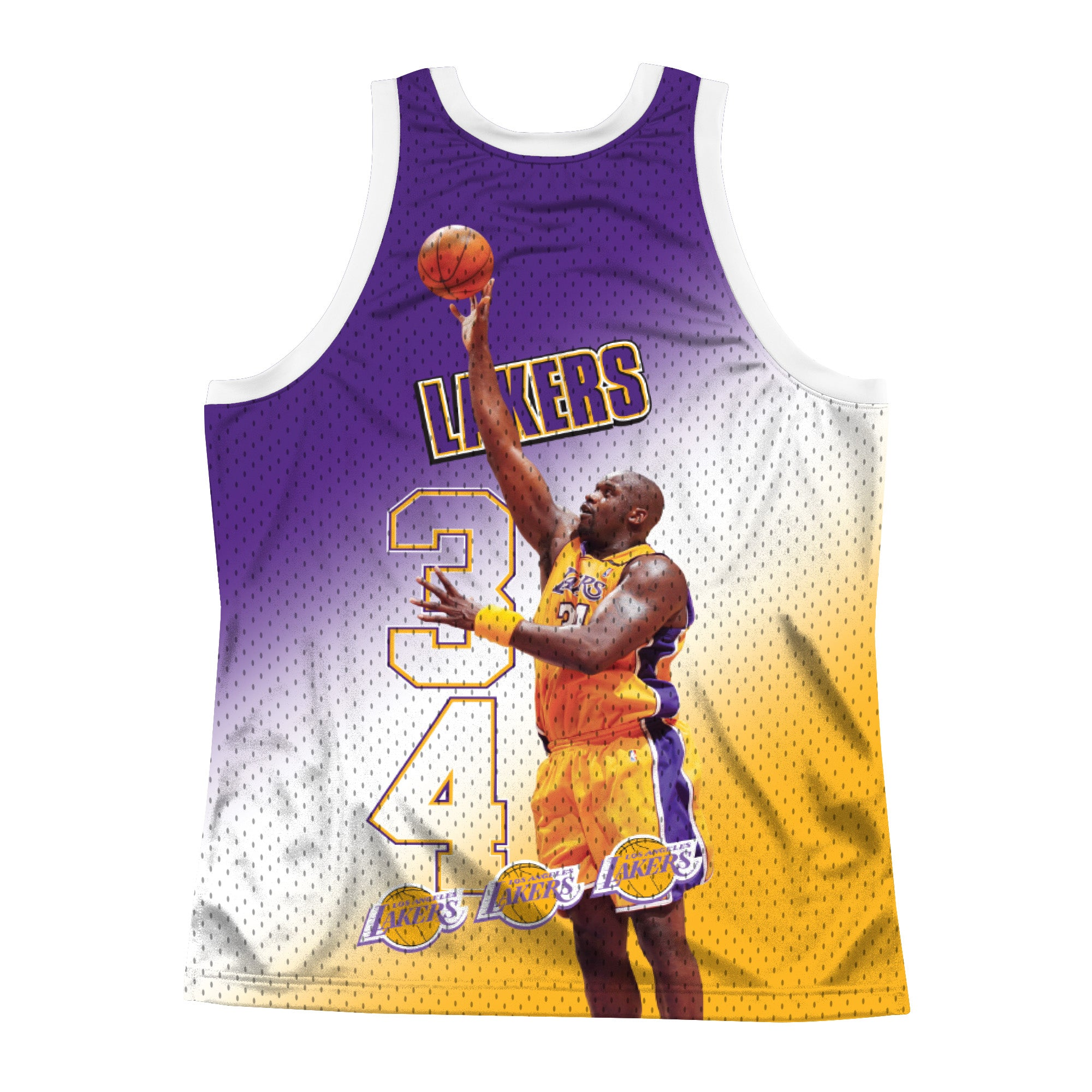 LAKERS BEHIND THE BACK - Black - Mitchell & Ness