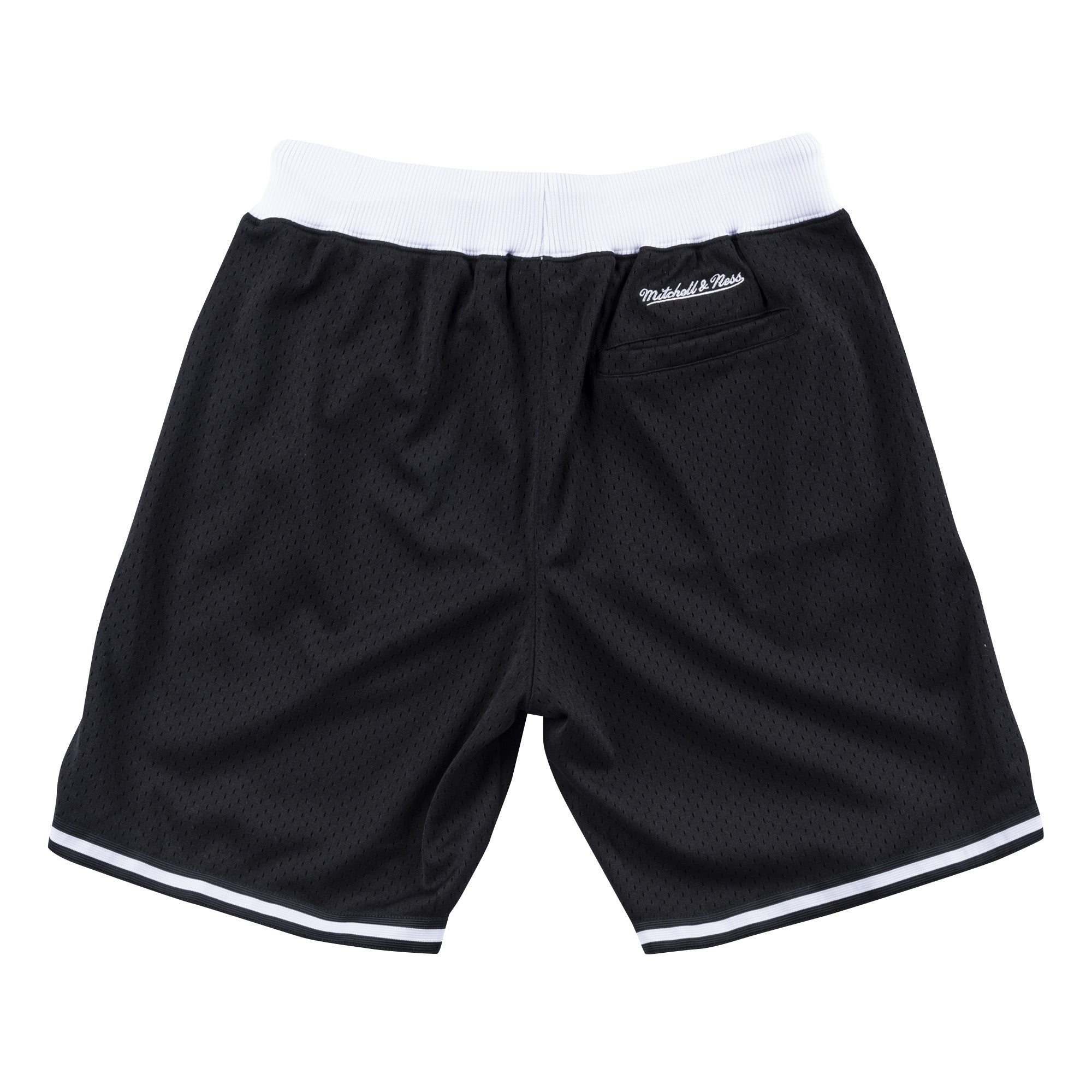 Branded Core Mesh Short Branded - Black - Mitchell & Ness