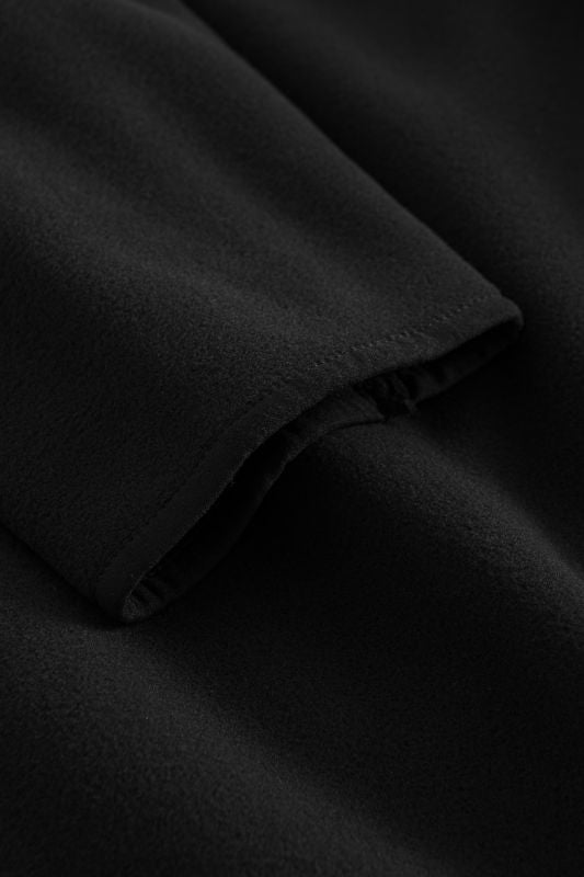 Silence Fleece Jacket - Black - Forét