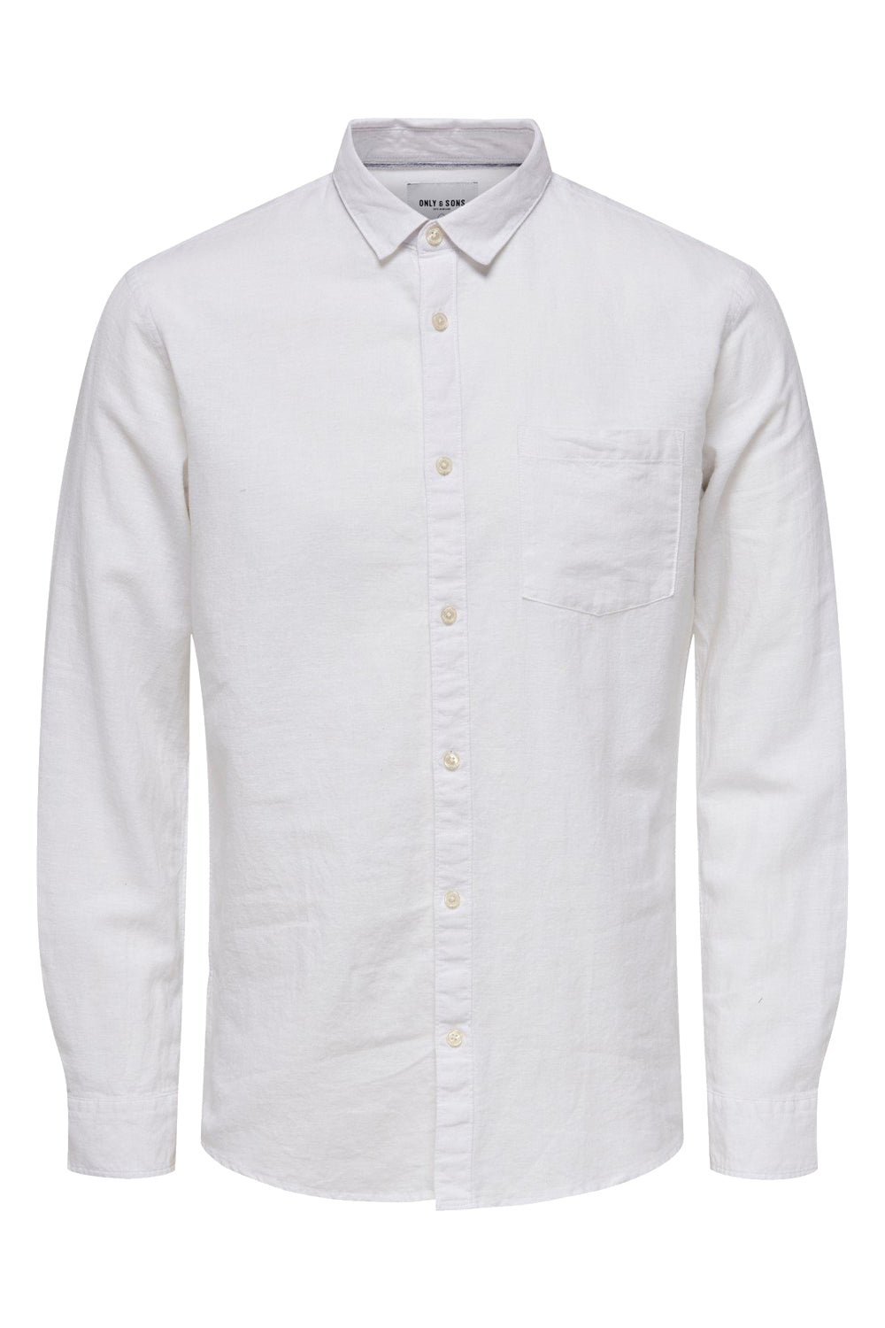 Only & Sons - Cadien LS Solid Linen Shirt