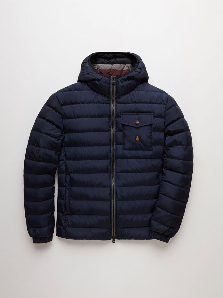 Real Down Hunter Jacket - Navy - Refrigiwear