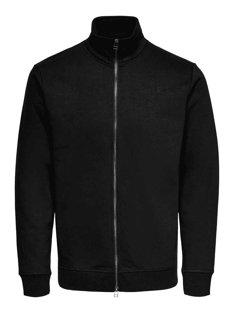 Con Life Cardigan - Sort - Only & Sons