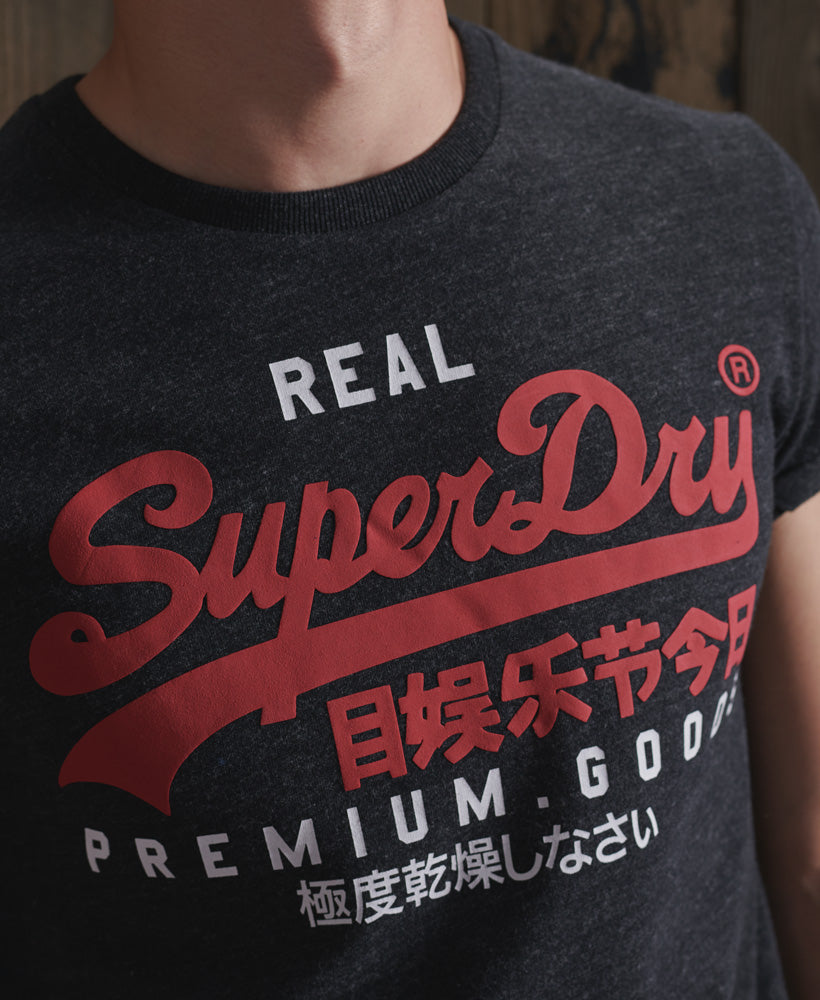 VL DUO Tee - Black Show - Superdry