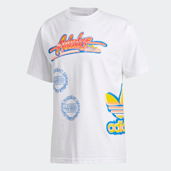Adidas AIRBRUSH MULTI HIT LOGO TEE