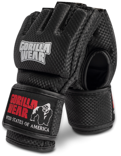 Berea MMA Gloves (Without Thumb) – Black / White