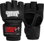 Load image into Gallery viewer, Berea MMA Gloves (Without Thumb) – Black / White