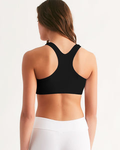 Women's Seamless Activ Sports Bra (Black)