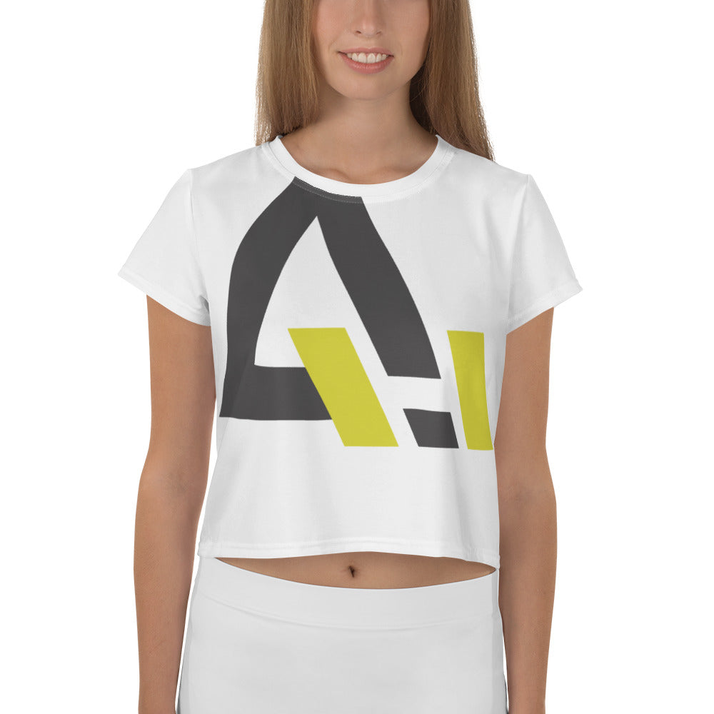 Large Logo Crop Tee