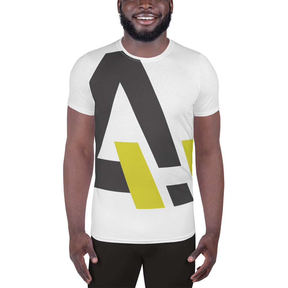 Large Activ Logo Men's Athletic T-shirt