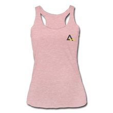 Load image into Gallery viewer, Women's Tri-Blend Racerback Tank - heather dusty rose