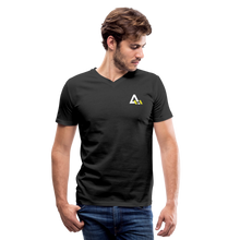Load image into Gallery viewer, Men's V-Neck T-Shirt - black
