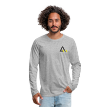 Load image into Gallery viewer, Men's Premium Long Sleeve T-Shirt - heather gray