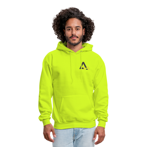 Men's Hoodie - safety green