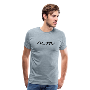 Men's Premium T-Shirt - heather ice blue