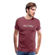 Load image into Gallery viewer, Men's Premium T-Shirt - heather burgundy