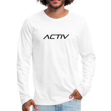 Load image into Gallery viewer, Men's Premium Long Sleeve T-Shirt - white