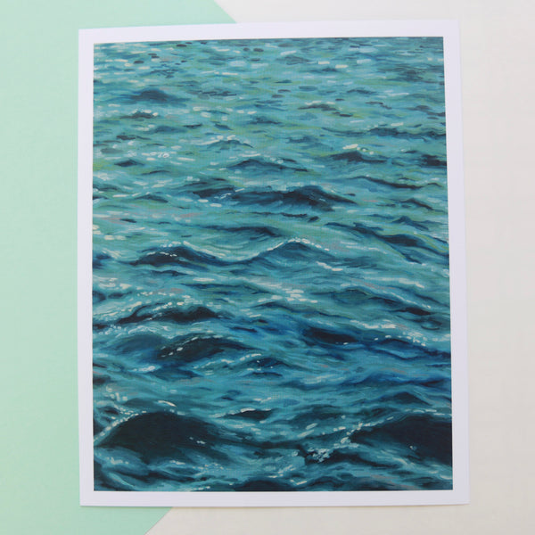 Sapphire Tide - Limited Edition Print