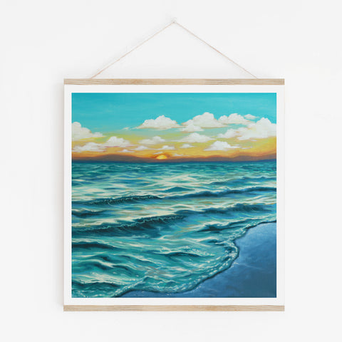 Ocean Sunset - Limited Edition Print