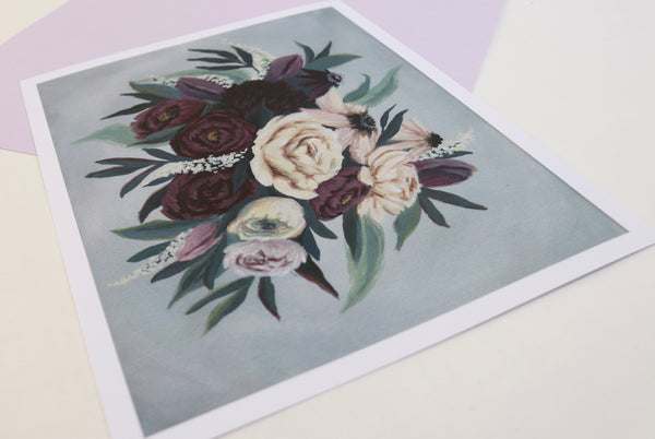 The Floral Collection | Violet Bloom - Limited Edition Print